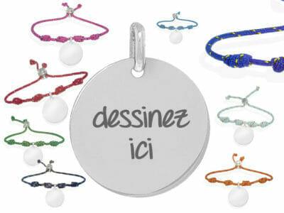 bijoux 0020 dessinez altea 400x300 - Bijou personnalisé : bracelet ajustable Altea dessinez par vous