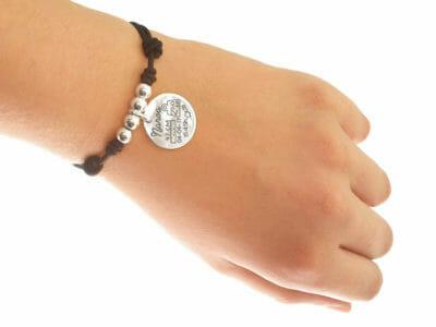 mamas nacimiento 400x300 - Bijou personnalisé : Bracelet élastique avec boules en argent massif dessinez votre bijou