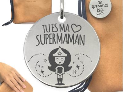 tu es ma supermaman 1 400x300 - Cadeaux personnalisés : Sac Tu es ma supermaman