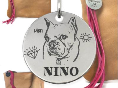 chien perso mon nino 400x300 - Cadeaux personnalisés : Sac Mon Nino