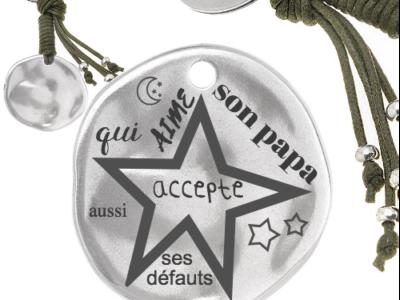 qui aime son papa accepte aussi ses défauts 400x300 - Cadeaux personnalisés : porte-clés avec franges qui aime son papa accepte aussi ses défauts
